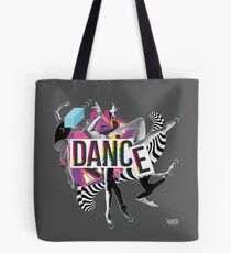 DANCE - A graphic tribute to BALLET -  Tote Bag