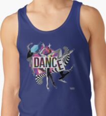 DANCE - A graphic tribute to BALLET -  Tank Top