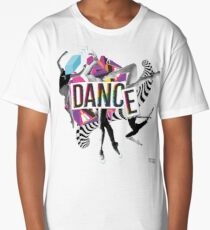 DANCE - A graphic tribute to BALLET -  Long T-Shirt
