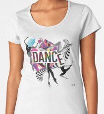 DANCE - A graphic tribute to BALLET -  Women's Premium T-Shirt