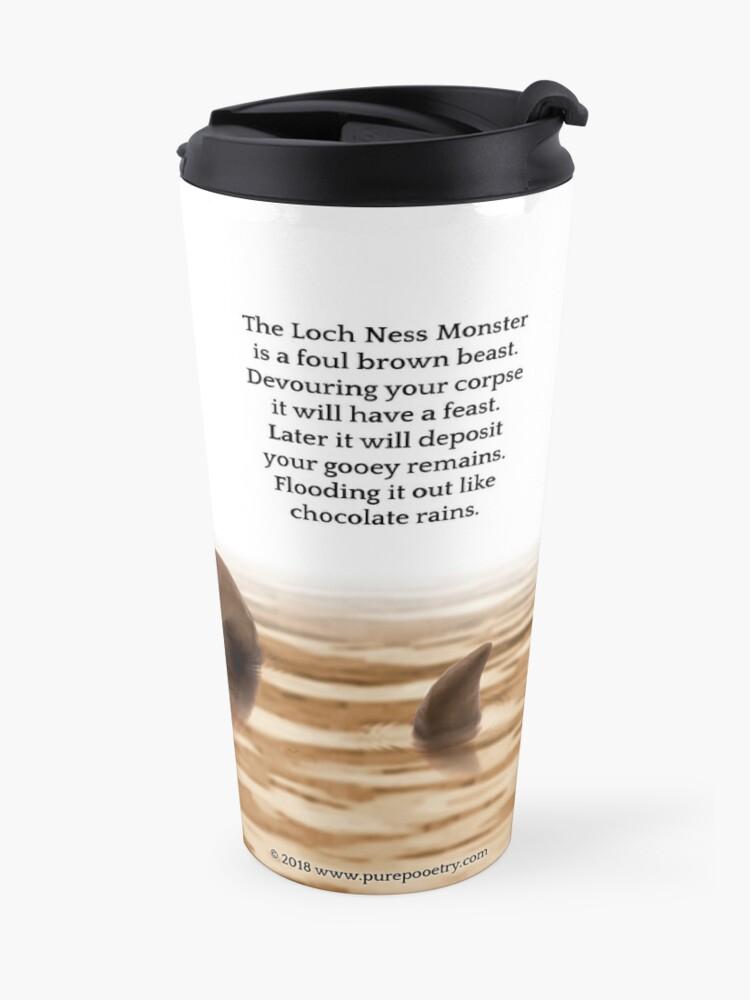 Alternate view of The Loch Ness Monster Travel Mug
