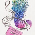 Caterpillar Dance with a Tape by Stephanie KILGAST
