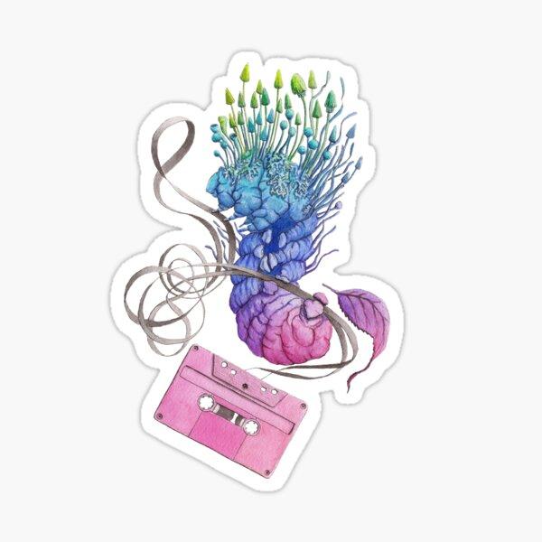 Caterpillar Dance with a Tape Sticker