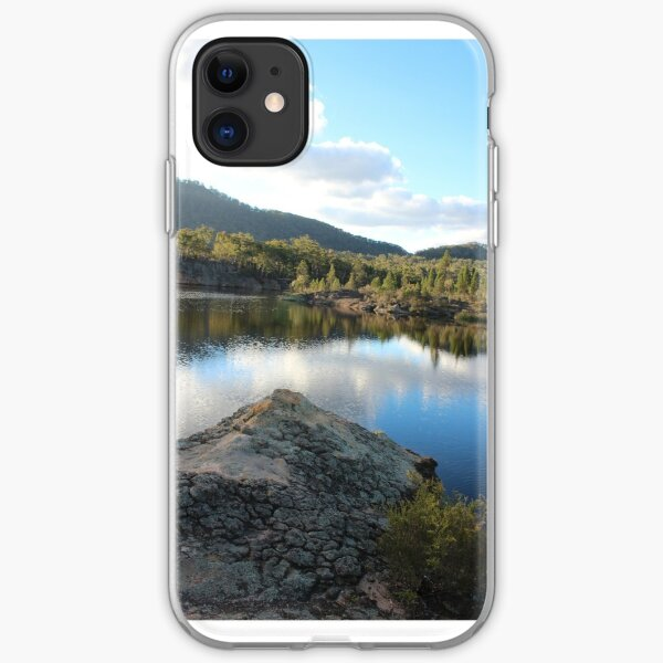 Platypus Point Dunn's Swamp NSW iPhone Soft Case