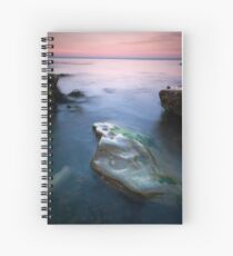 Rock at low water Spiral Notebook