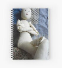 doll with no hair Spiral Notebook