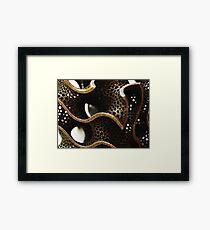 Labyrinth - Schwarz' D-Surface Framed Print