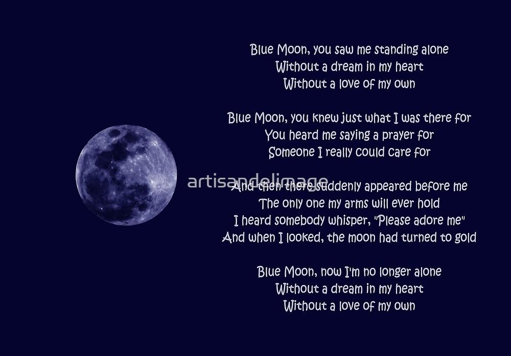 Blue Moon by artisandelimage
