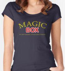 Magic Box - Buffy, The Vampire Slayer Women's Fitted Scoop T-Shirt