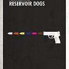 «Reservoir Dogs Minimal Film Poster» de quimmirabet