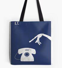 ET Minimal movie Poster Tote Bag