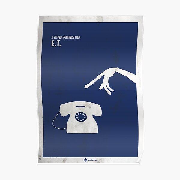 ET minimal movie poster Póster