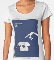 ET Minimal movie Poster Premium Scoop T-Shirt