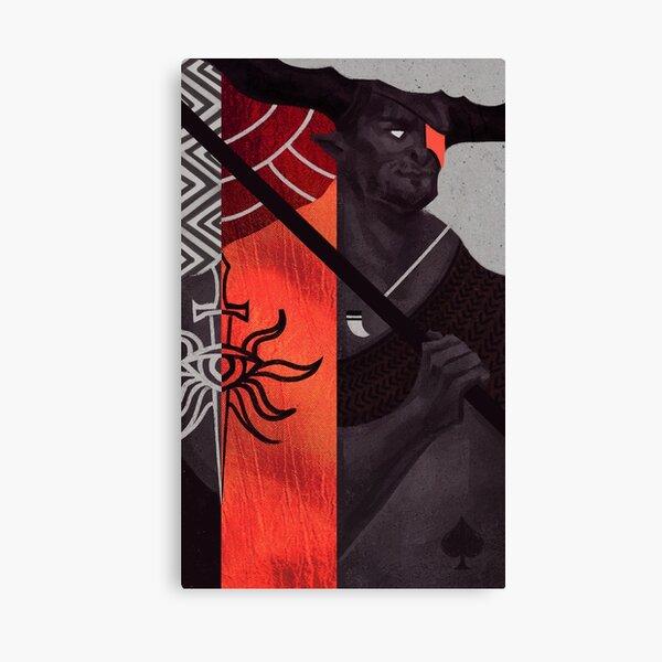 Iron Bull Canvas Print