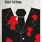 «Pulp Fiction Minimal Film Poster» de quimmirabet