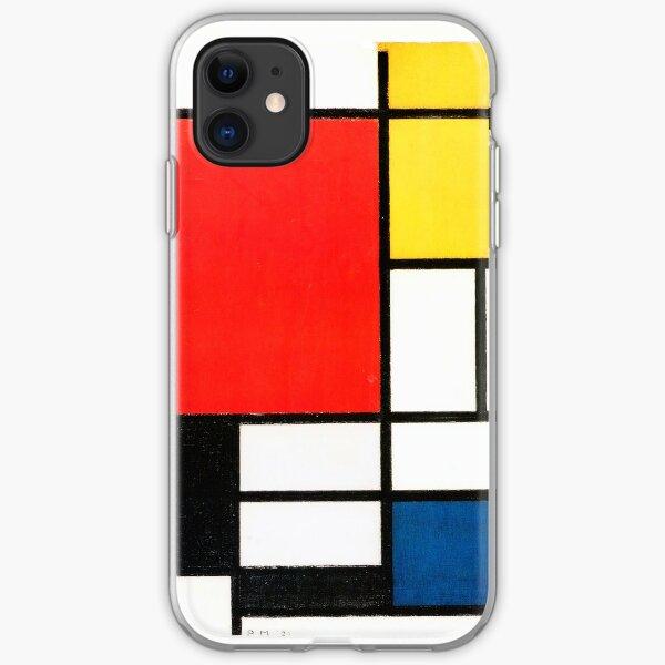 Piet Mondrian iPhone Soft Case