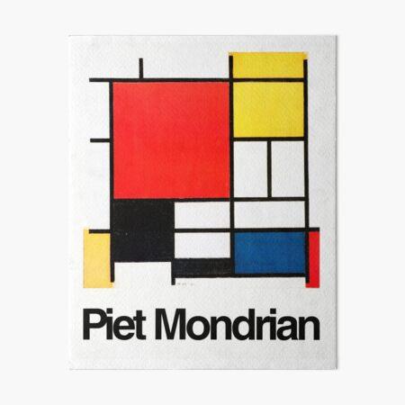 Piet Mondrian Art Board Print