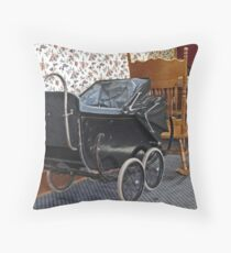 Tired and Worn Throw Pillow
