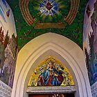 Entrance to the Marian Shrine Locherboden Tirol by Elzbieta Fazel