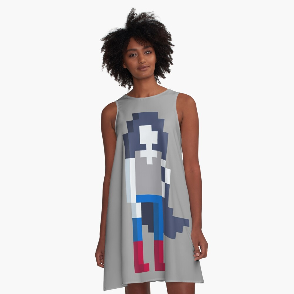 Adventure Time Marceline Voxel Style A-Line Dress
