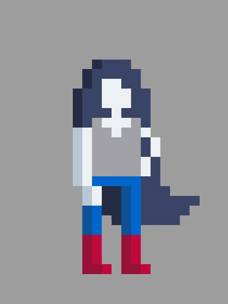 Adventure Time Marceline Voxel Style by Doomgriever