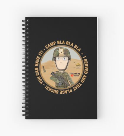 I served and you can have it! Spiral Notebook