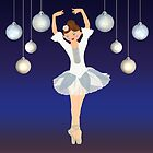 Ballerina dance on Christmas Eve  by talgursmusthave