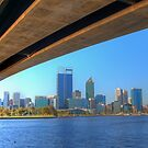 Perth Western Australia Skyline by Colin  Williams Photography