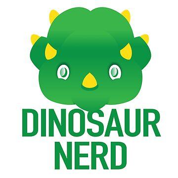Dinosaur Nerd (expert on dinosaurs) by jazzydevil