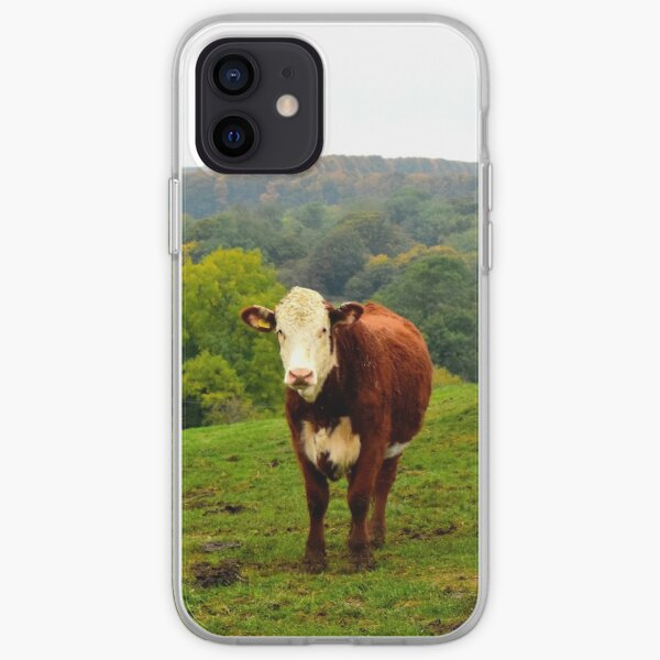 Bétail Hereford Coque souple iPhone