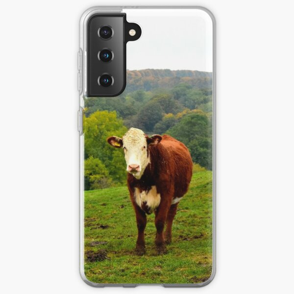 Hereford Cattle Samsung Galaxy Soft Case