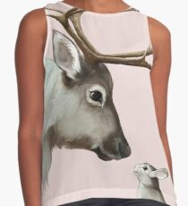 reindeer and rabbit Sleeveless Top