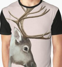 reindeer and rabbit Graphic T-Shirt