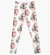 reindeer and rabbit Leggings