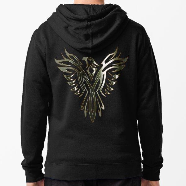 Phoenix Rising Zipped Hoodie