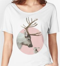 reindeer and rabbit Relaxed Fit T-Shirt
