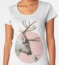 reindeer and rabbit Premium Scoop T-Shirt