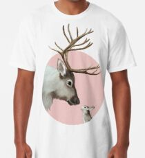 reindeer and rabbit Long T-Shirt