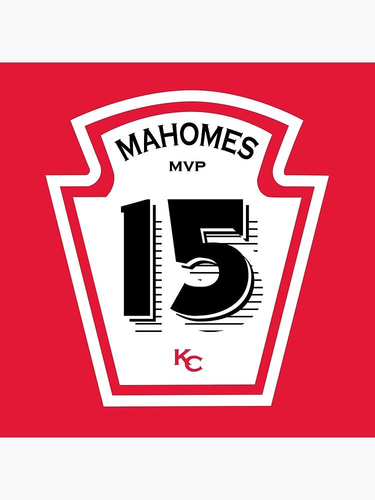 Patrick Mahomes Ketchup Bottle by SkipHarvey