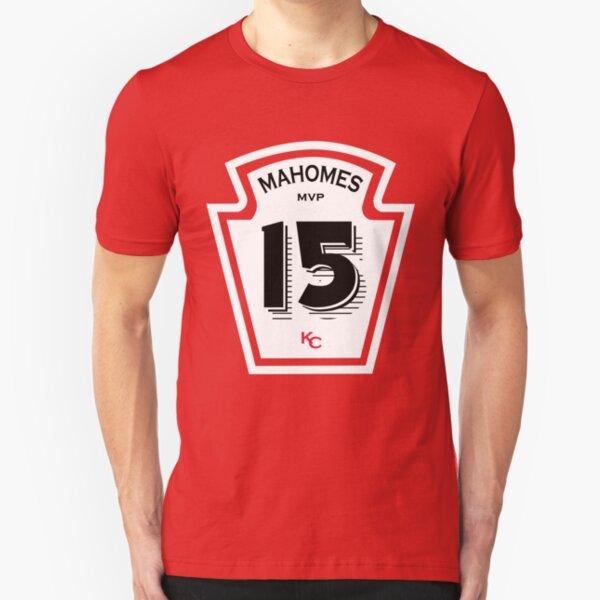 Patrick Mahomes Ketchup Bottle Slim Fit T-Shirt