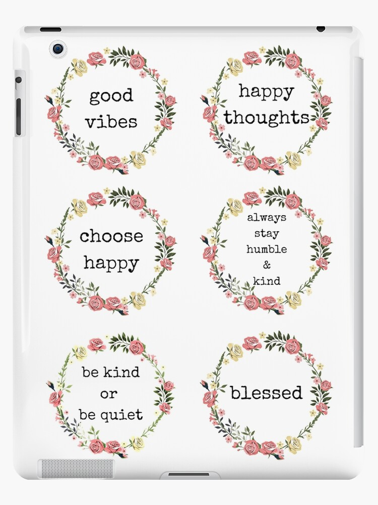 \'Happiness Quotes, Sticker Set, Sticker packs, Gifts, Presents; Cute, love,  friendship, adventure, kind, humble, blessed, good vibes, thoughts, choose  ...