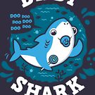 Baby Shark Boy with Pacifier by Olipop
