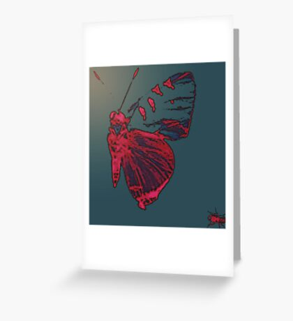 Butterfly Different Greeting Card