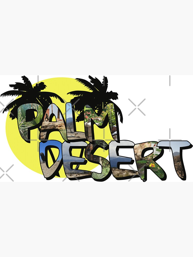 Palm Desert Large Letter with Moon by ButterflysAttic