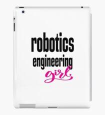 Robotics Engineering Girl iPad-Hülle & Klebefolie
