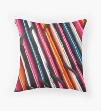 DAY 229 - CRAZY FOR STRIPES Throw Pillow