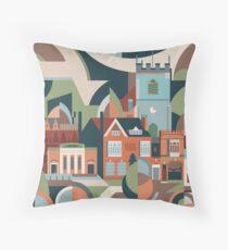 Moseley Village Throw Pillow