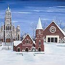 Christ The King Parish, Concord, New Hampshire by Jill Galvin