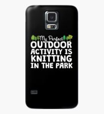 Knitting In The Park Case/Skin for Samsung Galaxy