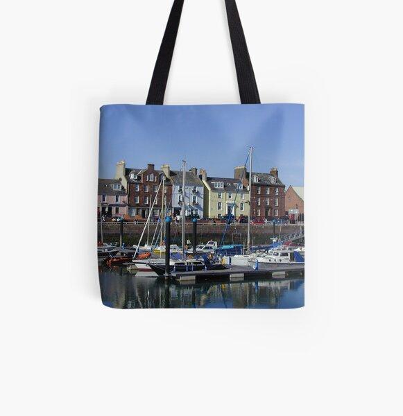 Scottish Royal Stewart Tartan Highlands Reuseable Shopper Tote Bags Loch Ness